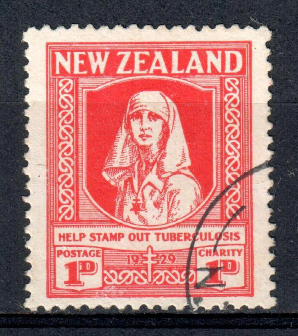 NEW ZEALAND 1929 Help Stamp Out Tuberculosis. - 75154 - CTO image 0