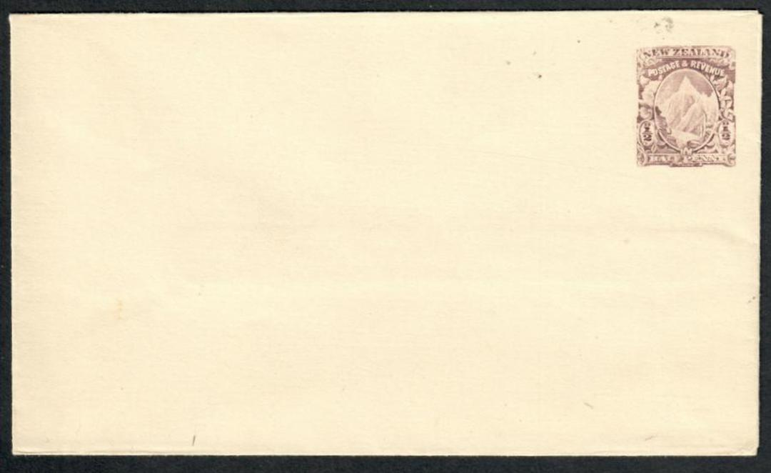 NEW ZEALAND 1898 Postal Stationery ½d 1d and 2d Envelopes in superb mint condition except for display fold on the 1d. - 100850 - image 1