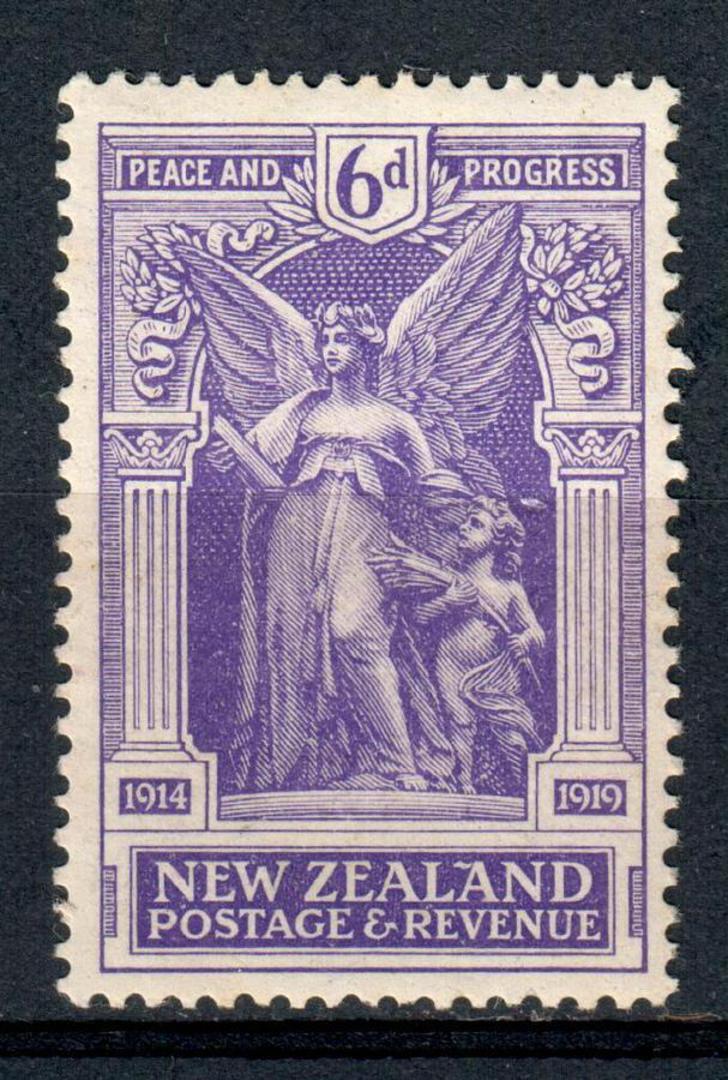 NEW ZEALAND 1920 Victory 6d Purple. - 135 - UHM image 0
