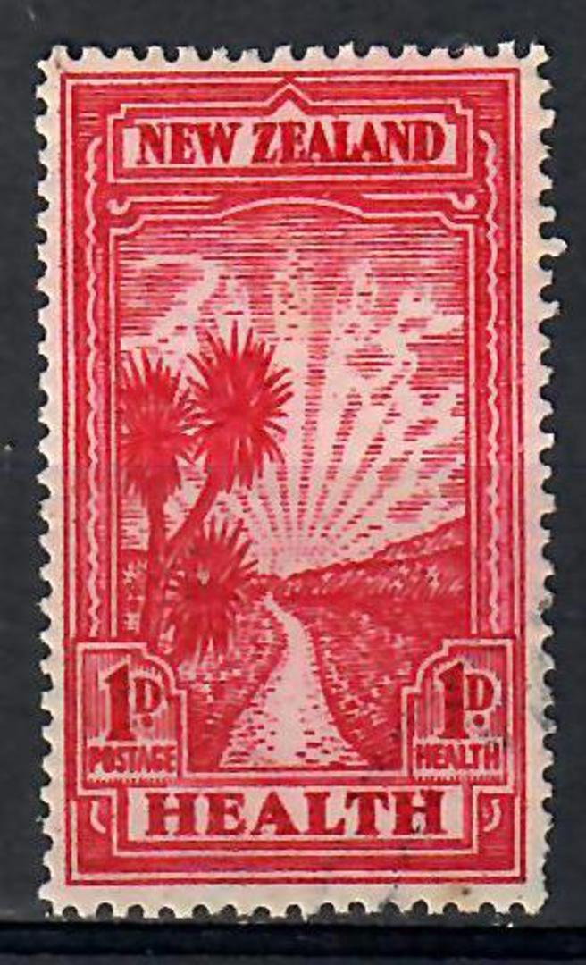 NEW ZEALAND 1933 Health. Very fine. - 74079 - FU image 0