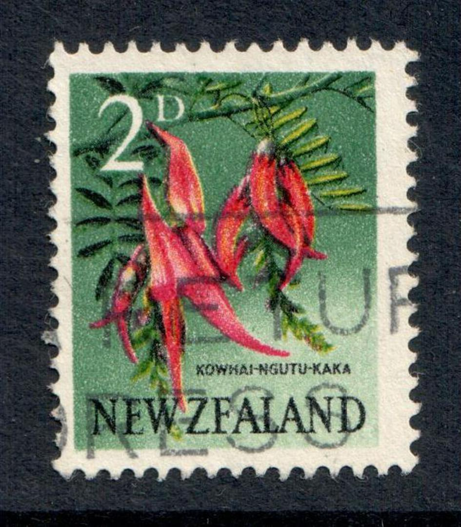 NEW ZEALAND 1960 Pictorial 2d Flaw ZFA. - 79267 - FU image 0