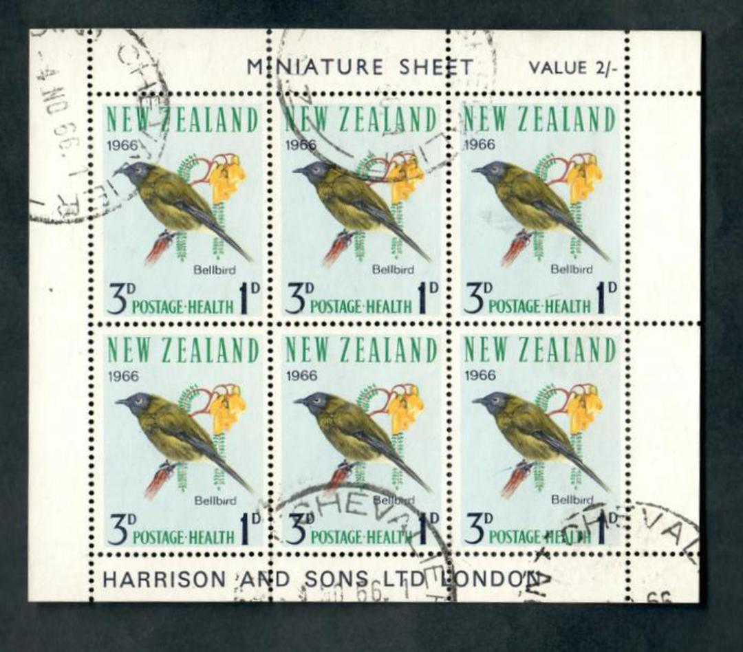 NEW ZEALAND 1966 Health. The 3d miniature sheet. - 50568 - FU image 0