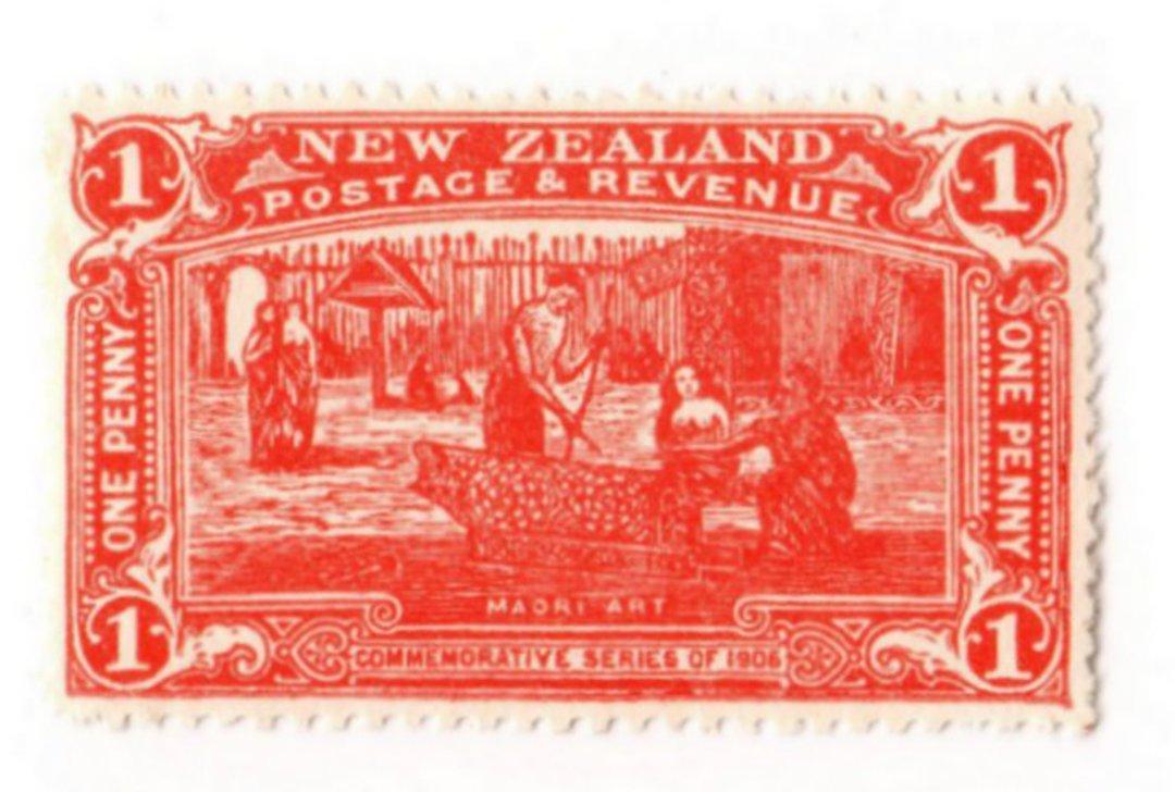 NEW ZEALAND 1906 Christchurch Exhibition 1d Vermilion. - 67 - UHM image 0