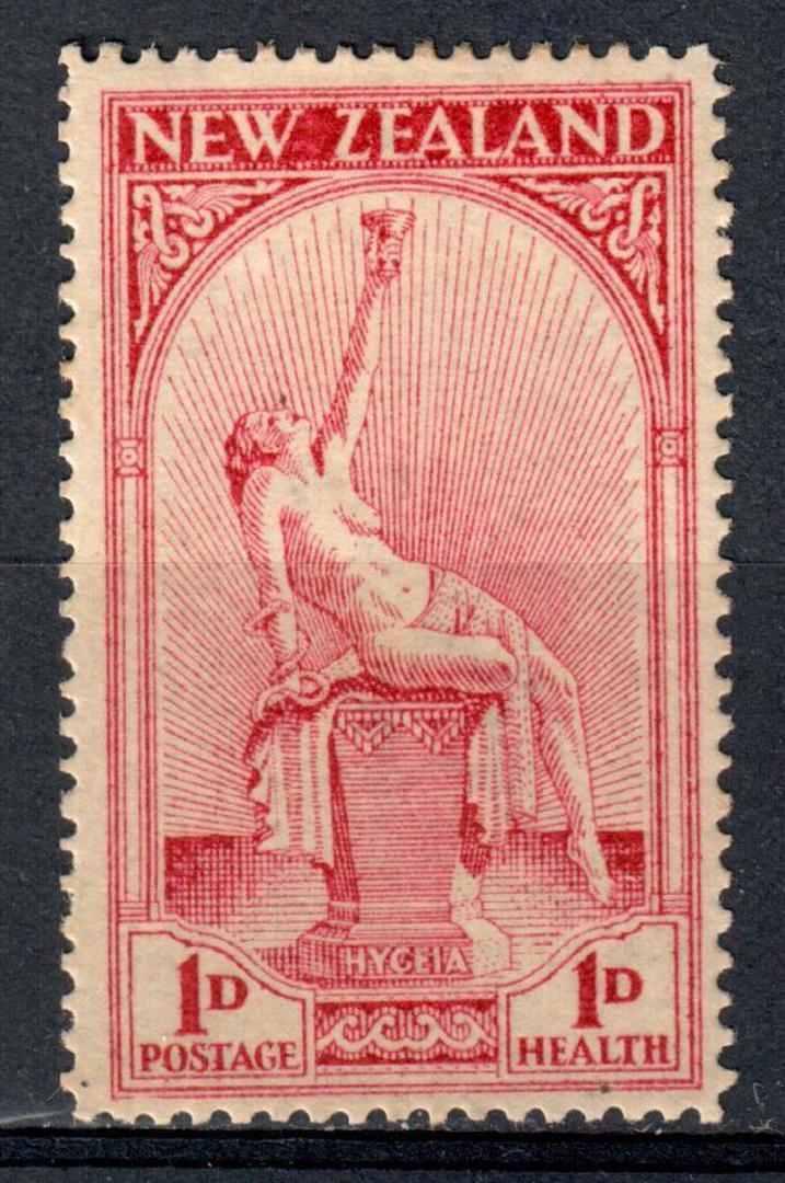 NEW ZEALAND 1932 Health Hygeia. - 39005 - Mint image 0