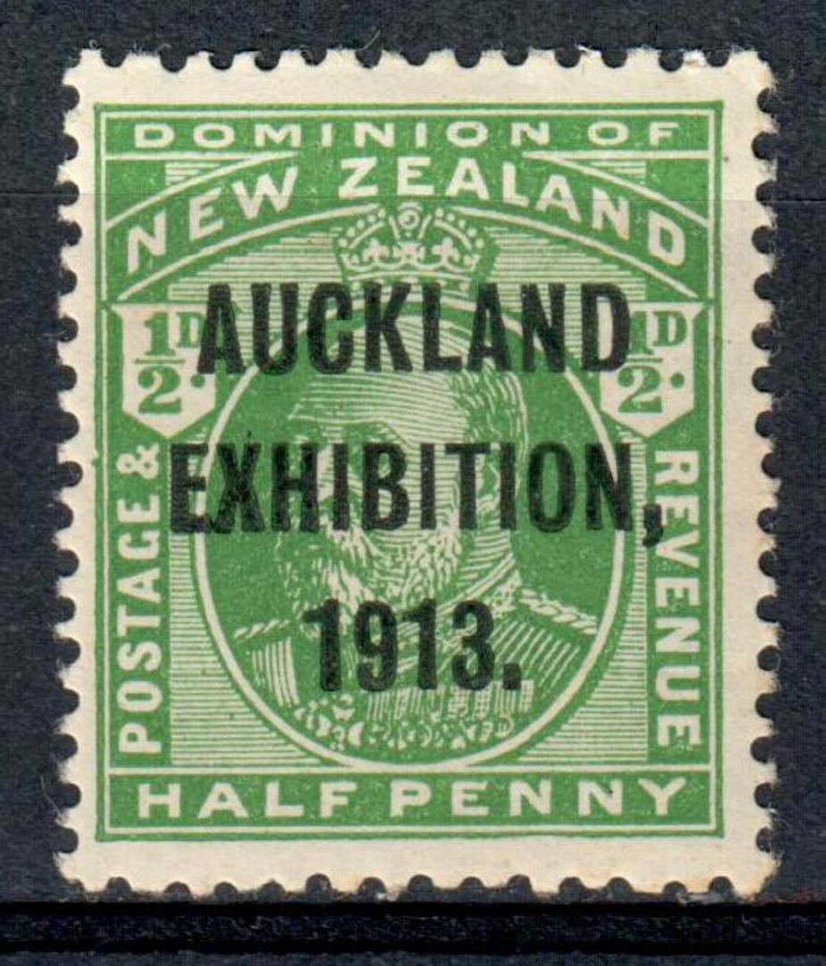 NEW ZEALAND 1913 Auckland Exhibition. Set of 4. - 92 - UHM image 0