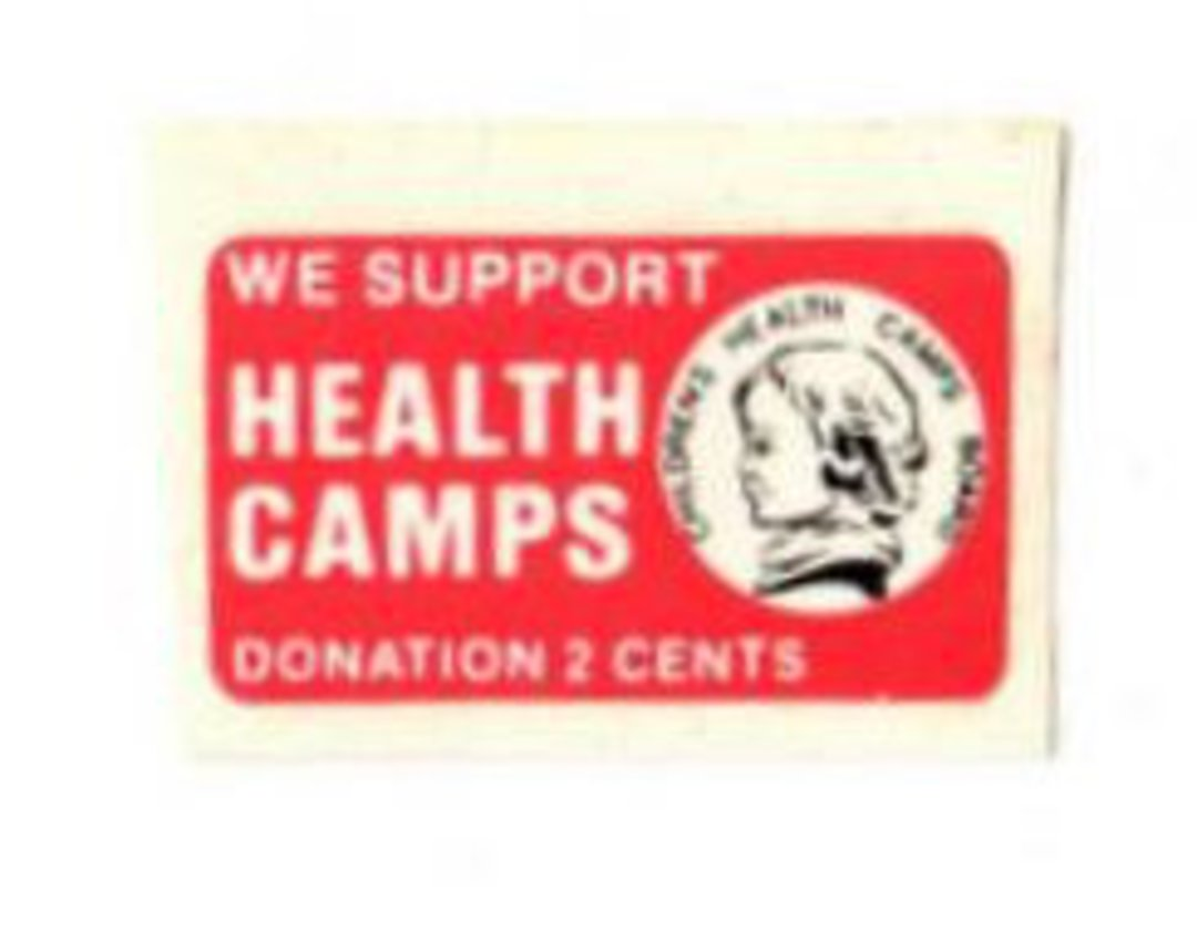 NEW ZEALAND 1981 Health Cinderella Label. - 74979 - Cinderellas image 0