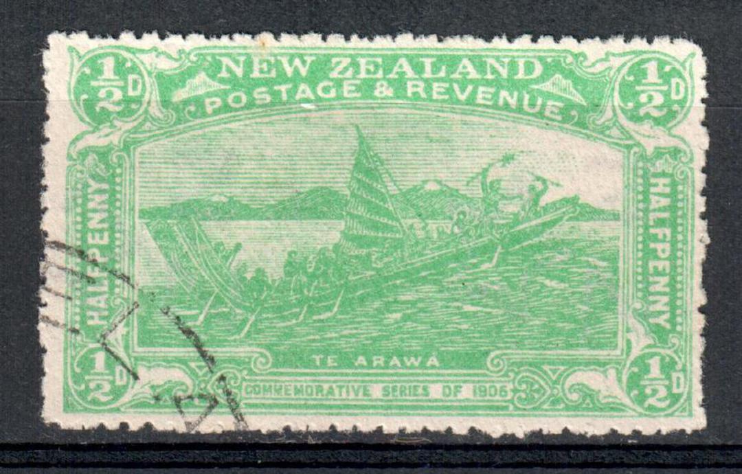 NEW ZEALAND 1906 Christchurch Exhibition ½d Green. - 10066 - VFU image 0