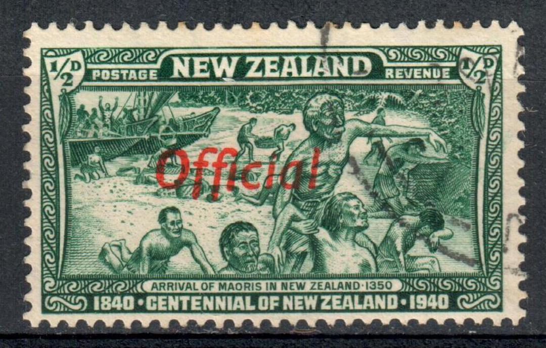 NEW ZEALAND 1940 Centennial Official. Set of 11. - 10239 - VFU image 0