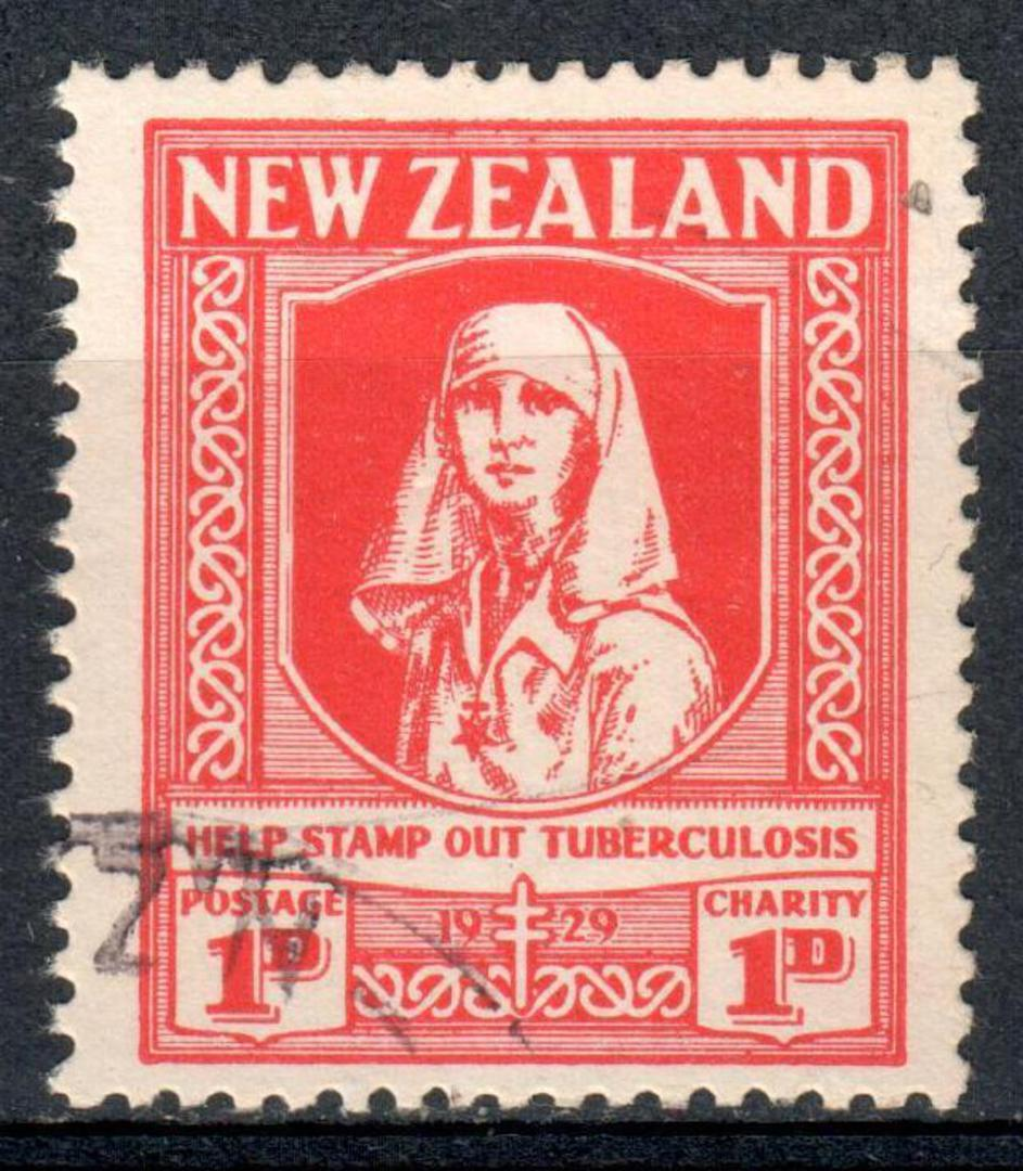 NEW ZEALAND 1929 Health Help Stamp Out Tuberculosis. - 19329 - VFU image 0