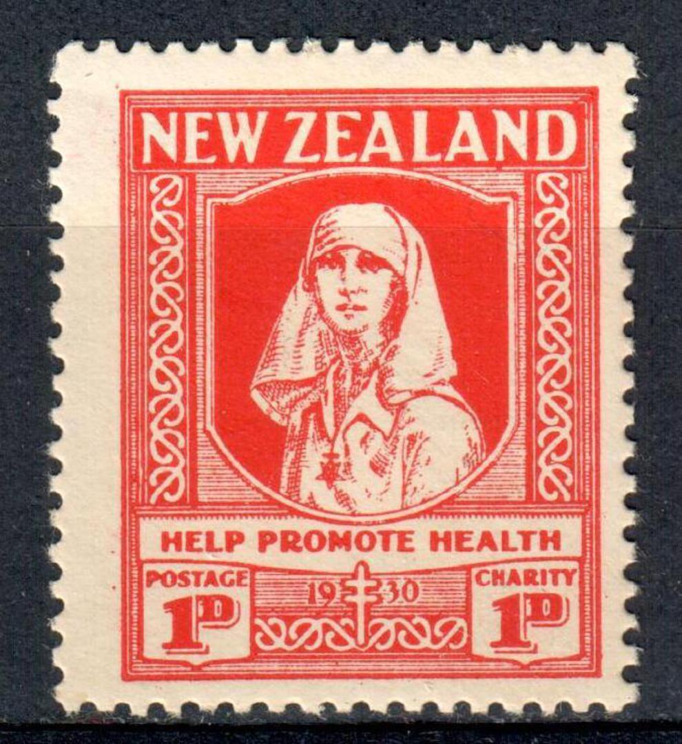 NEW ZEALAND 1930 Health 1d Red. - 19230 - UHM image 0