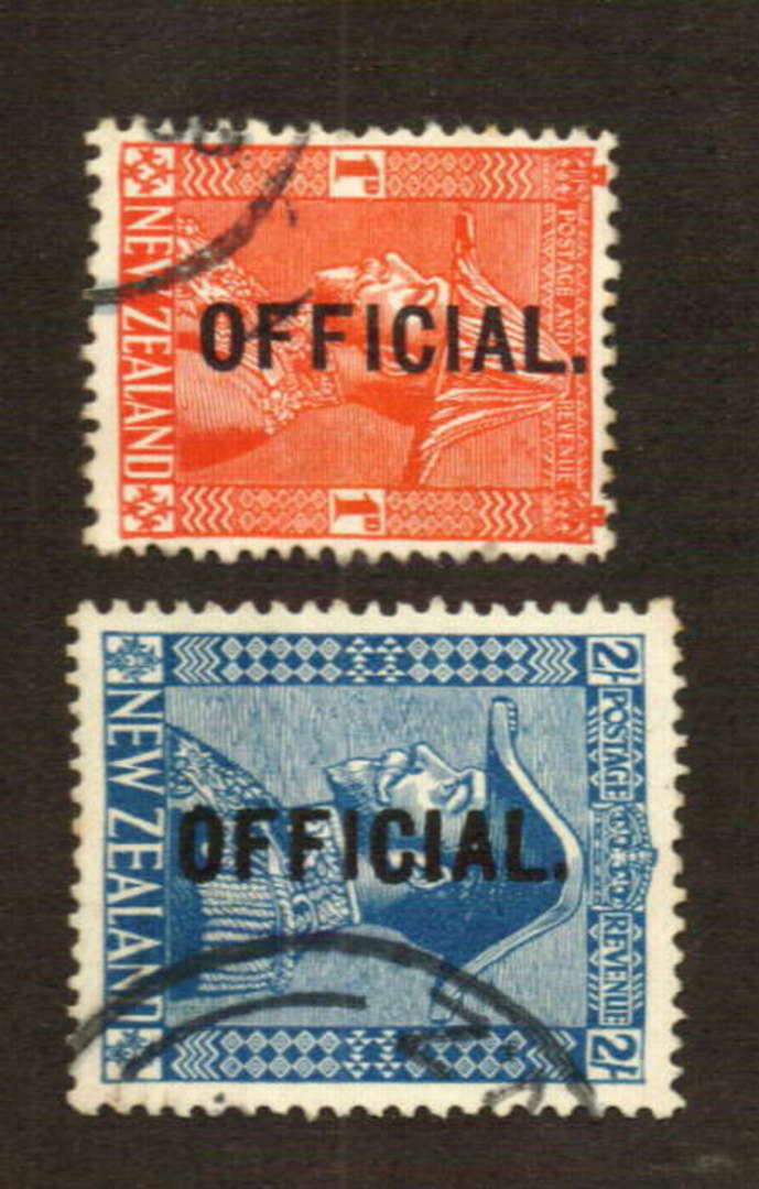 NEW ZEALAND 1926 Geo 5th Admiral 2/- Official. Superb copy. - 74677 - VFU image 0