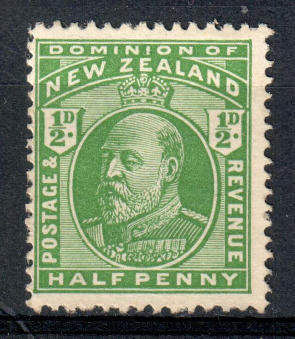 NEW ZEALAND 1909 Edward 7th Definitive - 78 - UHM image 0
