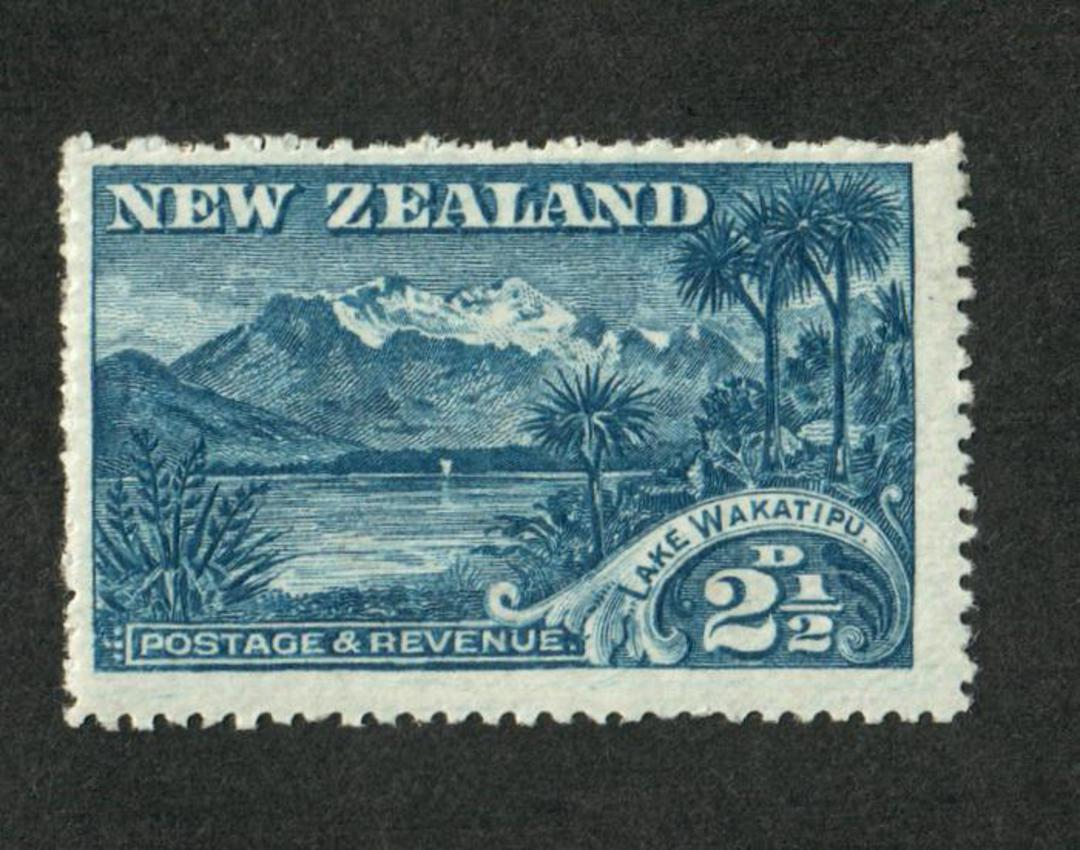 NEW ZEALAND 1898 Pictorial 2½d Wakatipu. - 41 - LHM image 0