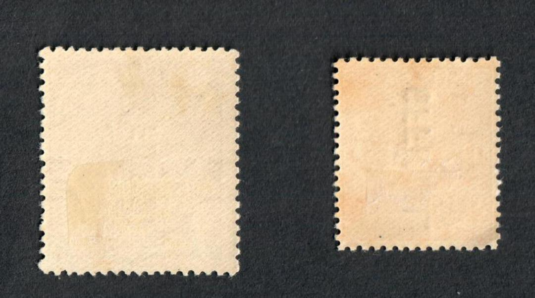 NEW ZEALAND 1926 Geo 5th Officials. Set of 2. - 4315 - LHM image 1