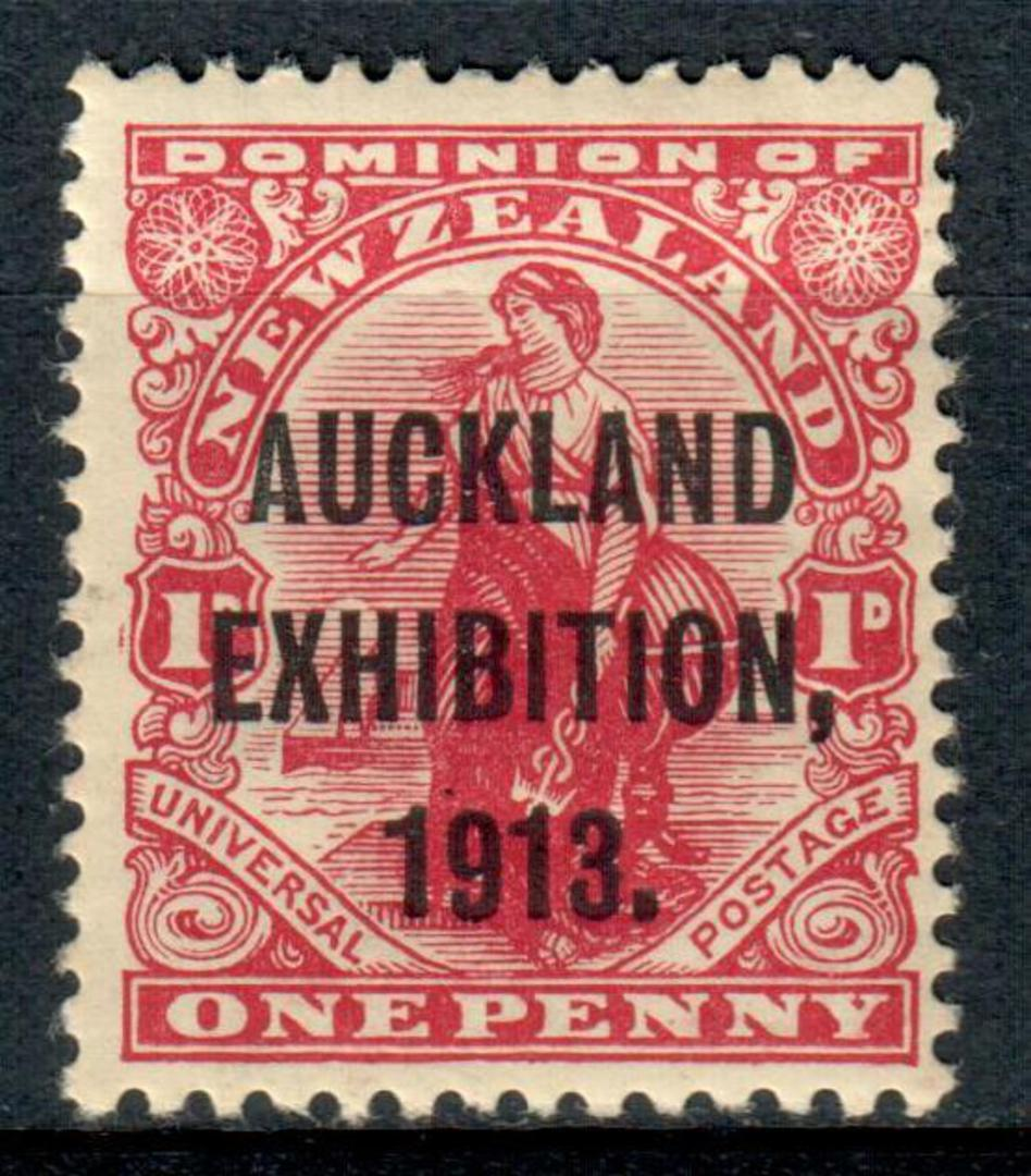 NEW ZEALAND 1913 Auckland Exhibition 1d Red. - 3657 - LHM image 0