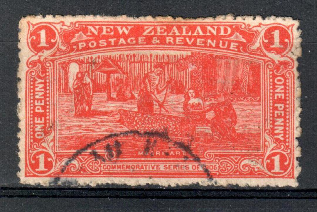 NEW ZEALAND 1906 Christchurch Exhibition 1d Vermilion. - 10067 - VFU image 0