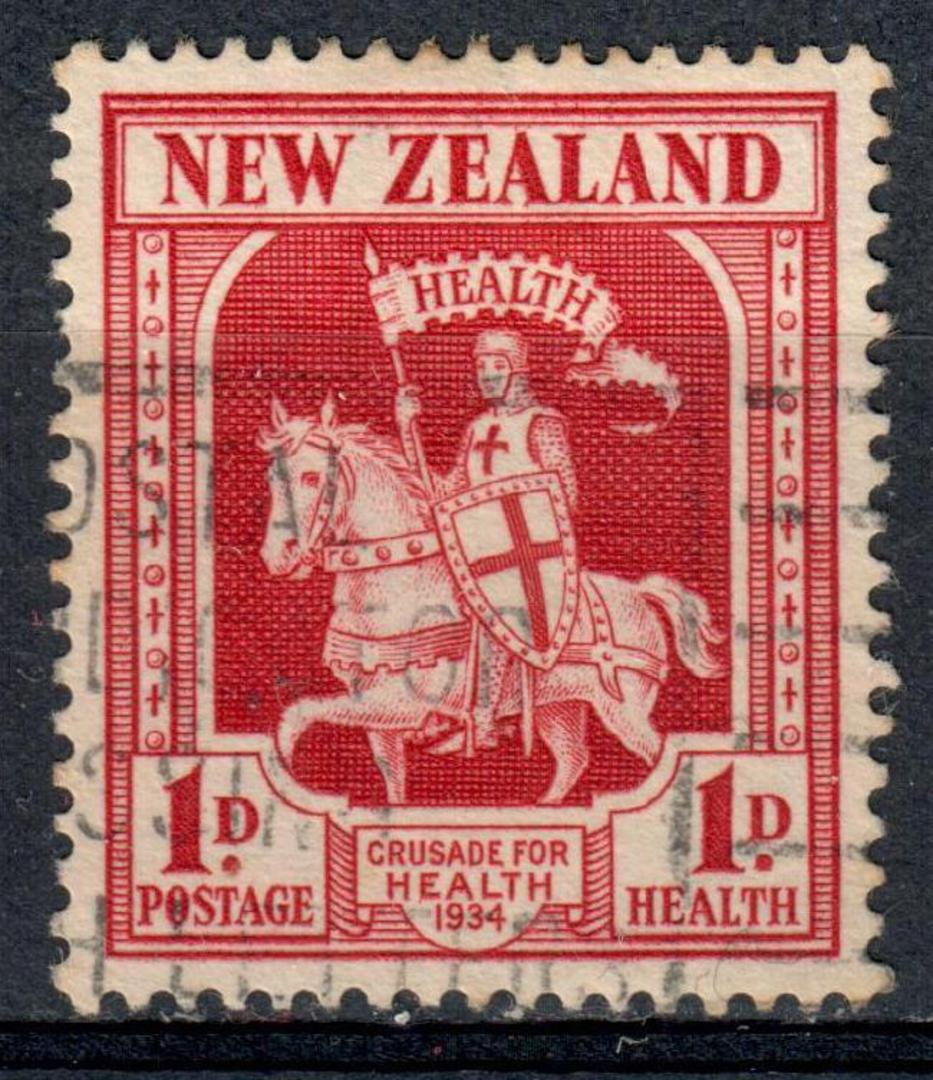 NEW ZEALAND 1934 Health Crusader. Nice commercial copy. - 75168 - Used image 0