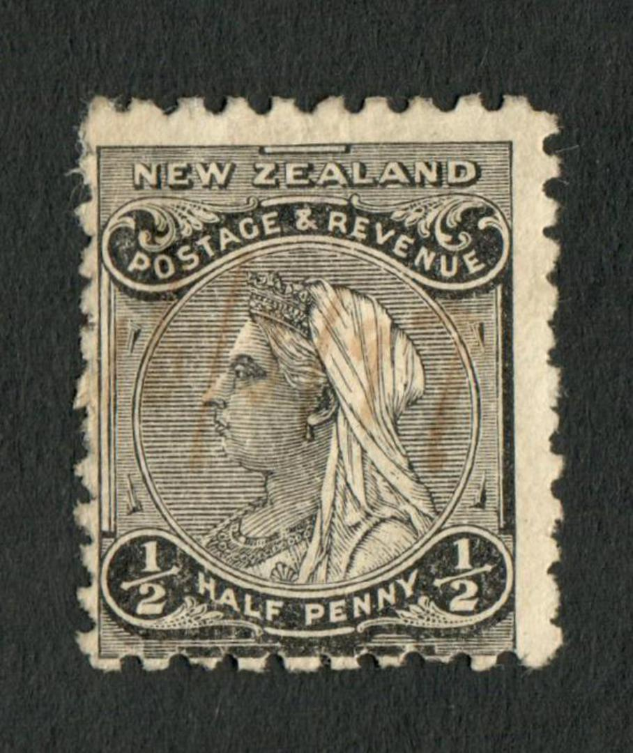 NEW ZEALAND 1882 Second Sideface ½d Black. Rotary Perf 10x11. - 4209 - Mint image 0