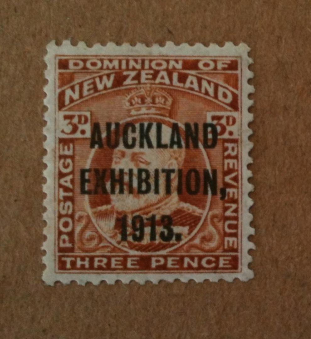 NEW ZEALAND 1913 Auckland Exhibition 3d Brown. - 74949 - UHM image 0