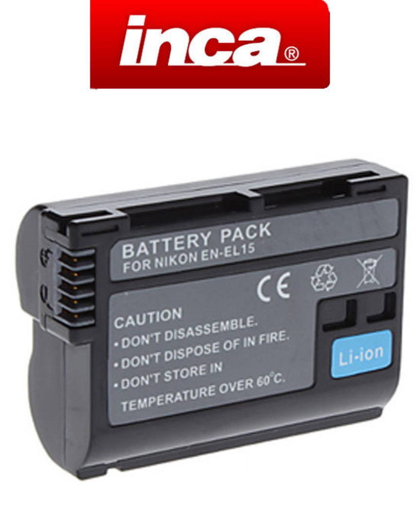 INCA NIKON EN-EL15 Compatible Battery image 0
