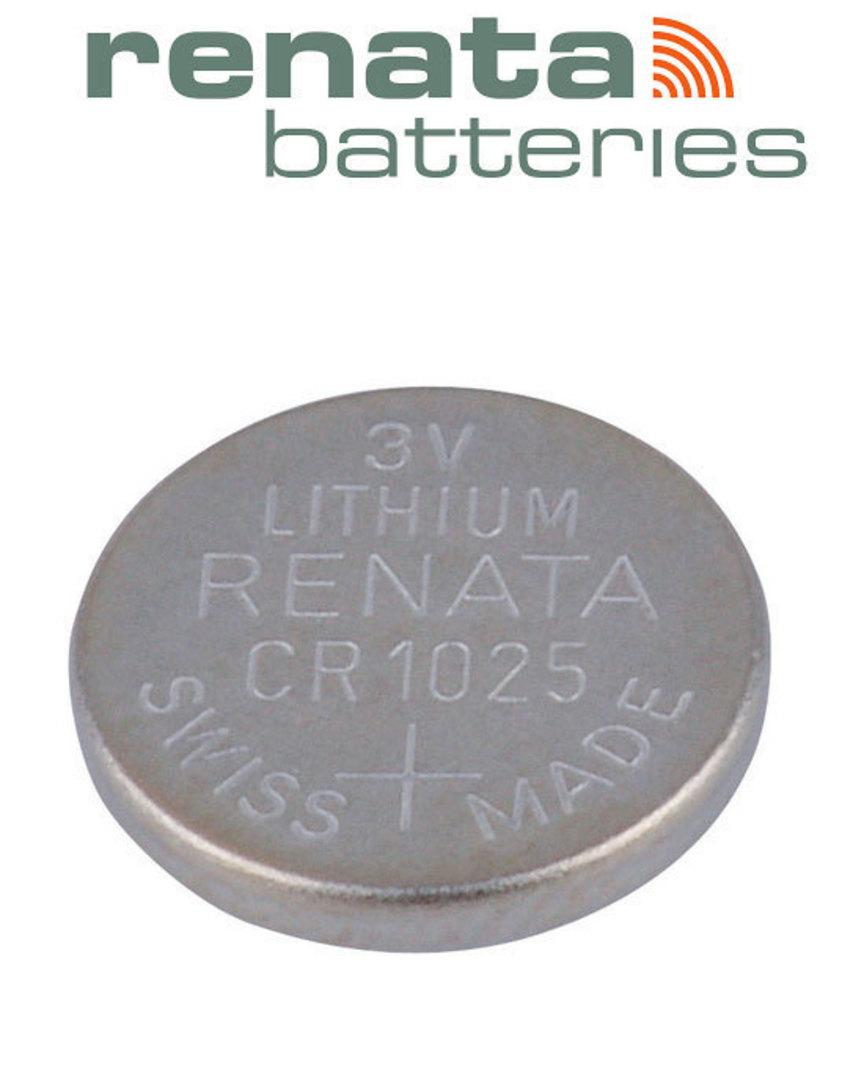 RENATA CR1025 Lithium Battery image 2