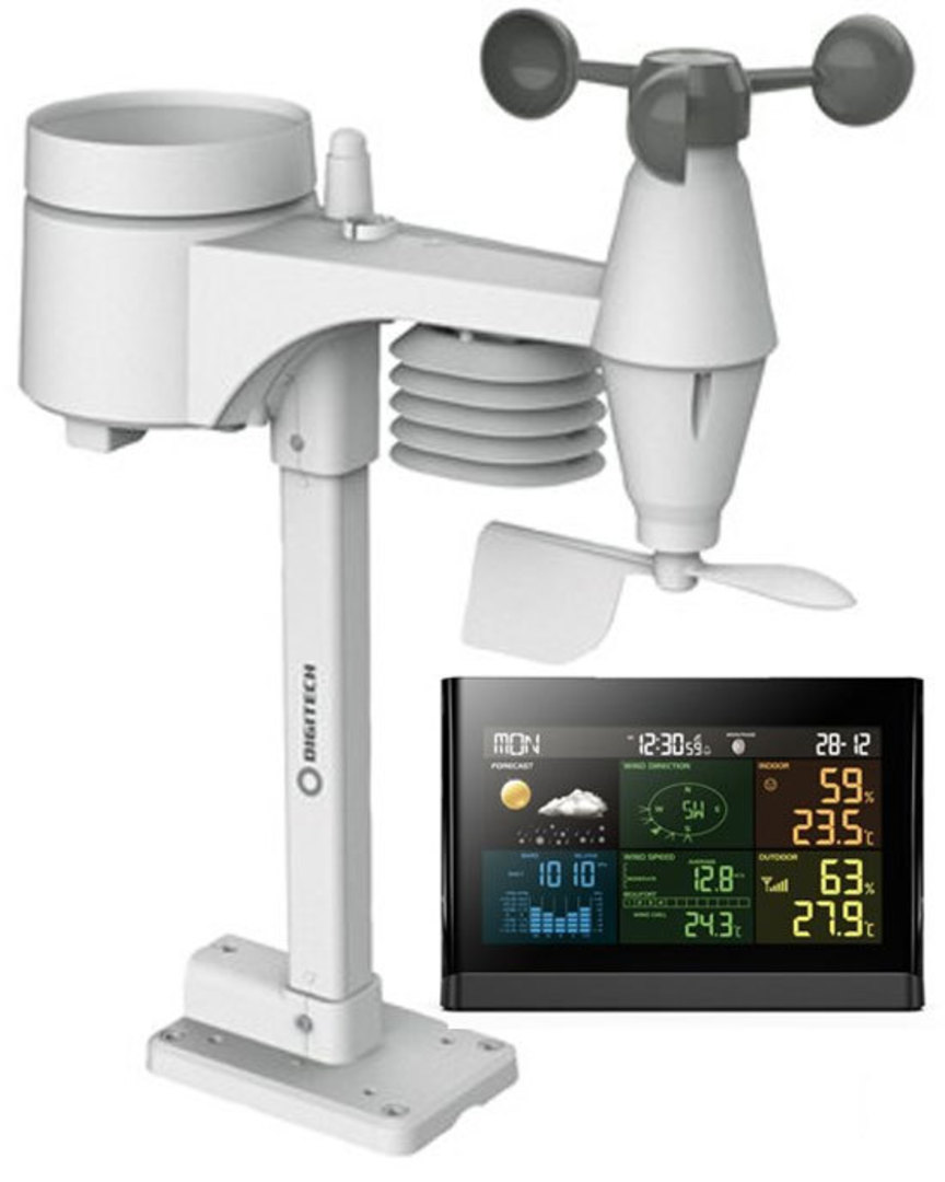 XC0434 DIGITECH Wireless Digital Colour Weather Station image 0