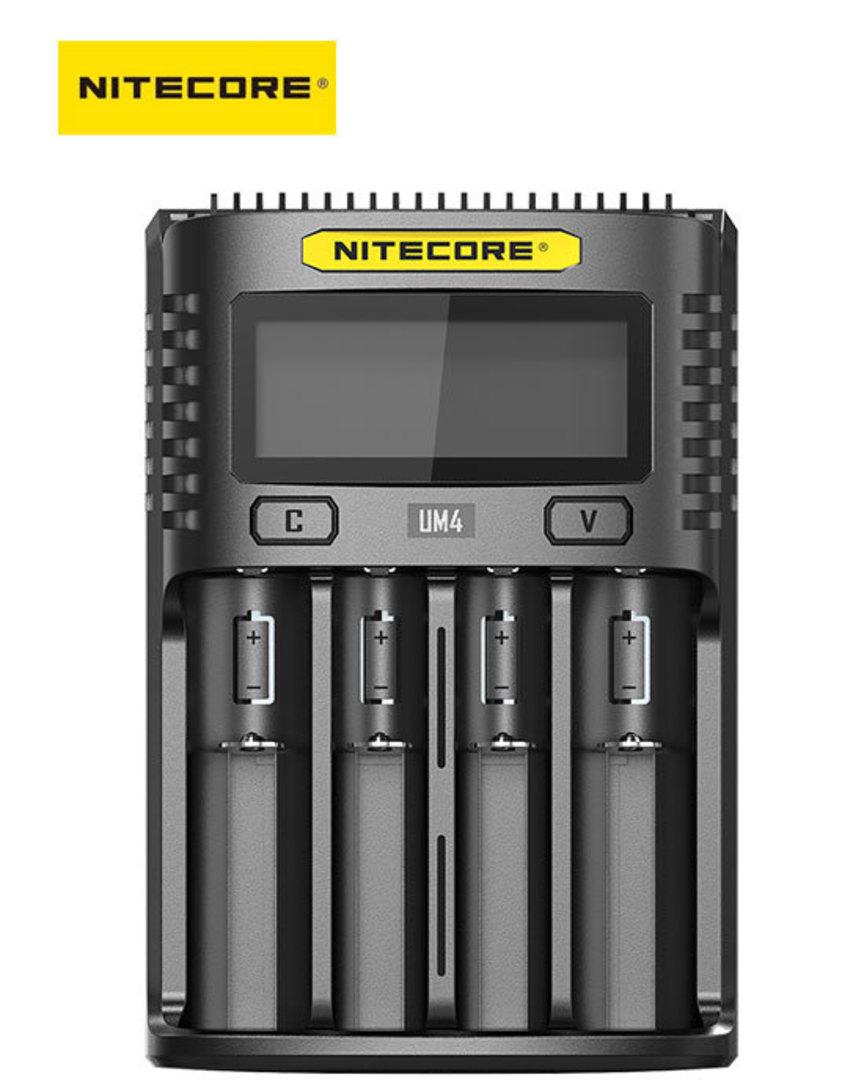 NITECORE UM4 Intelligent USB Four-Slot Charger image 0
