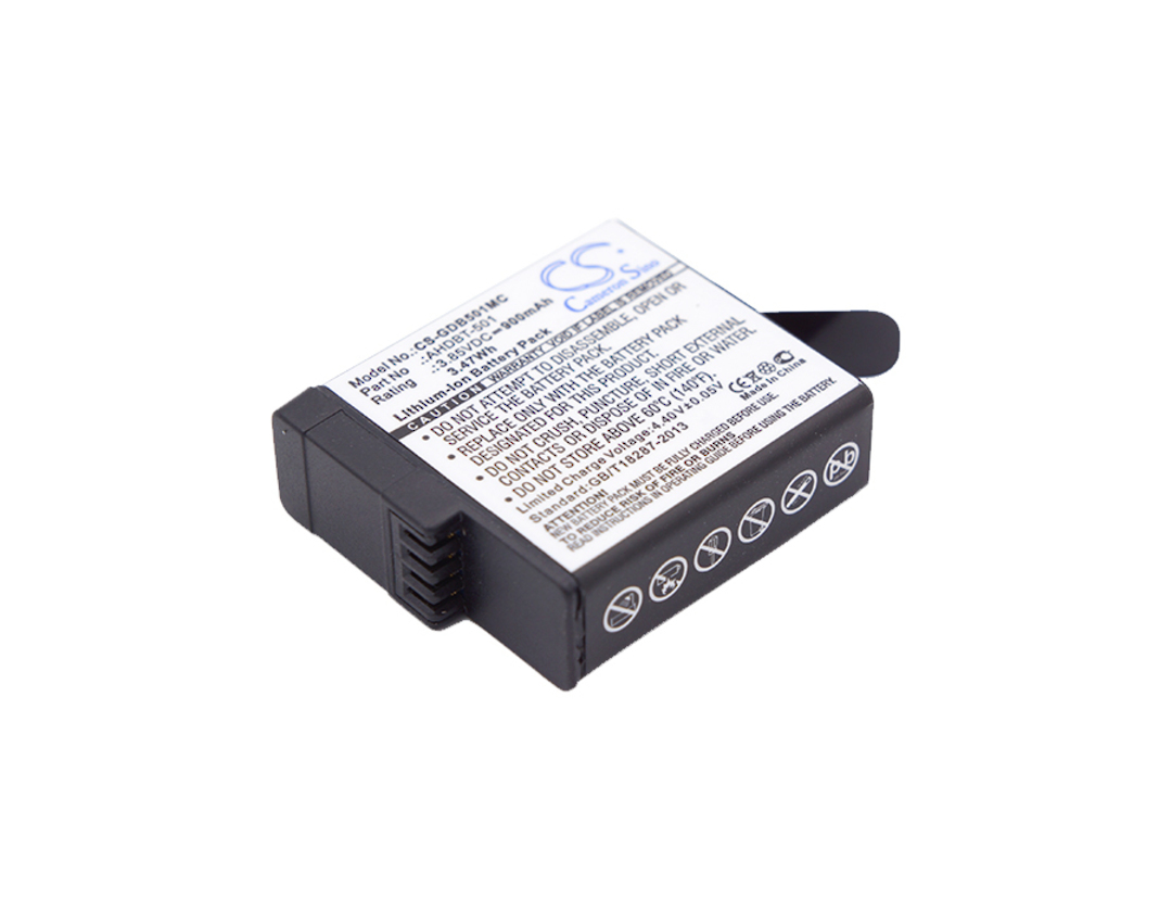 GOPRO HERO5 AHDBT-501 Compatible Battery image 0