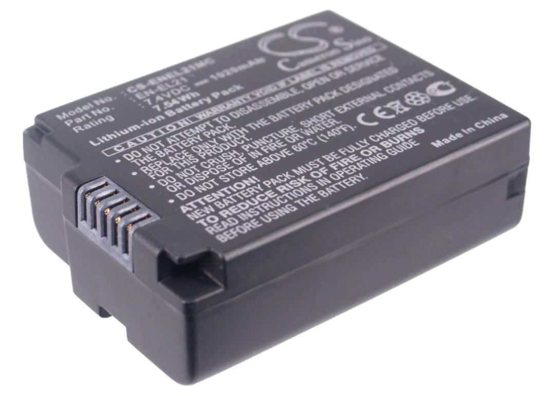 NIKON EN-EL21 1 V2 Compatible Battery image 0