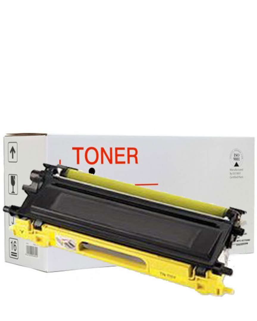 Compatible Brother TN348 Yellow Toner Cartridge image 0