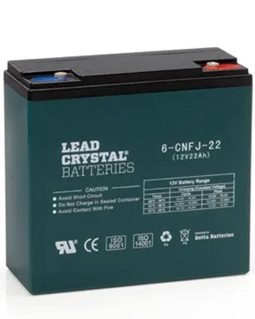 Lead Crystal 6-CNFJ-22 SLA 12V 22AH Battery image 0