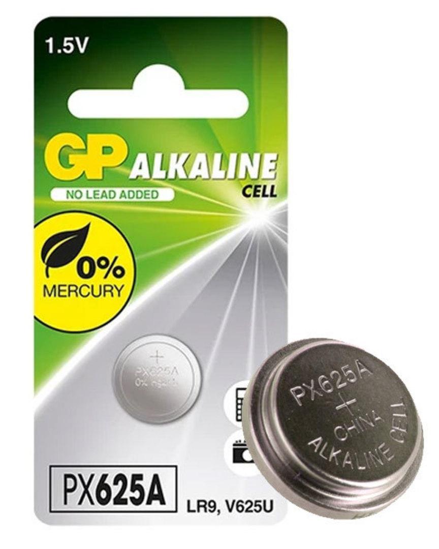 GP LR9 V625U PX625A Alkaline Battery image 0