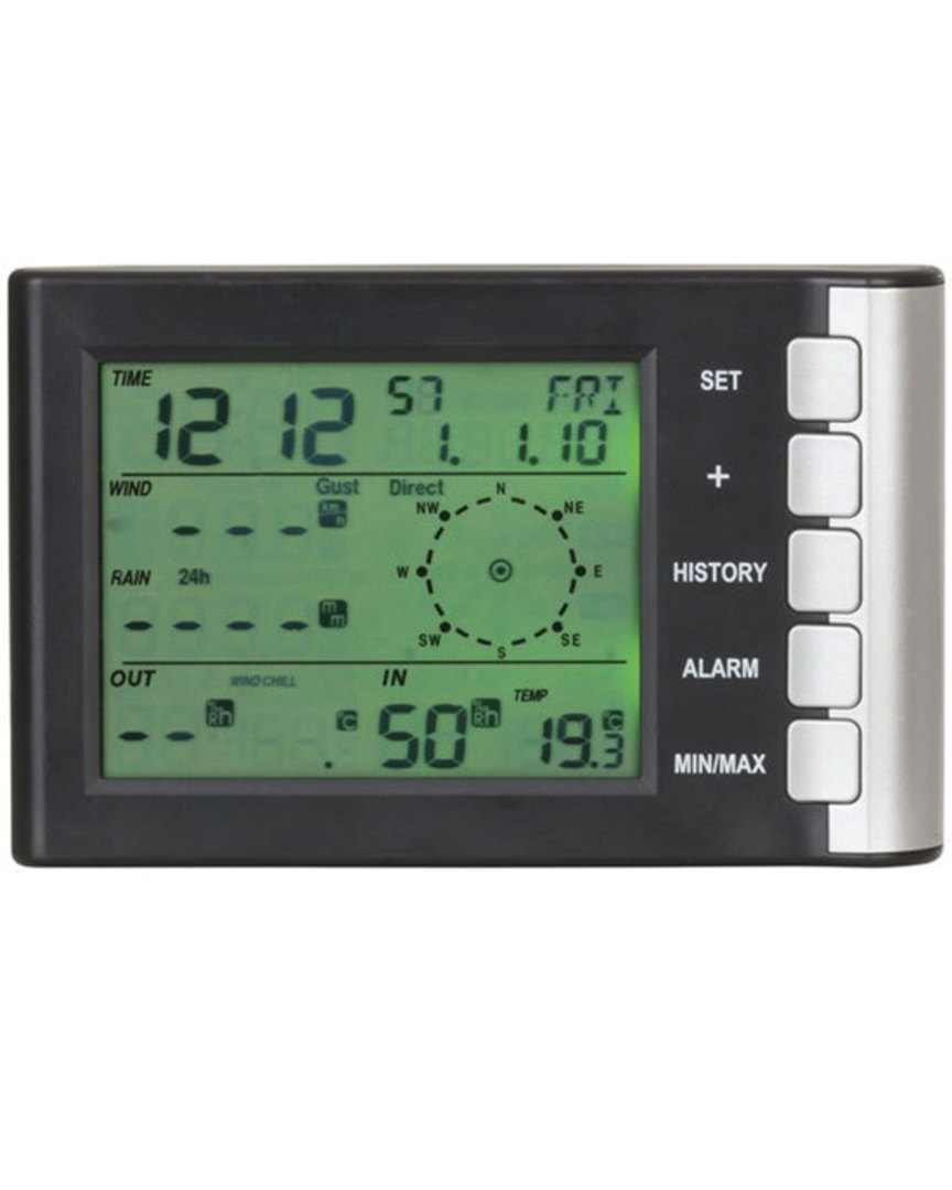 XC0400 DIGITECH Mini LCD Display Weather Station image 1