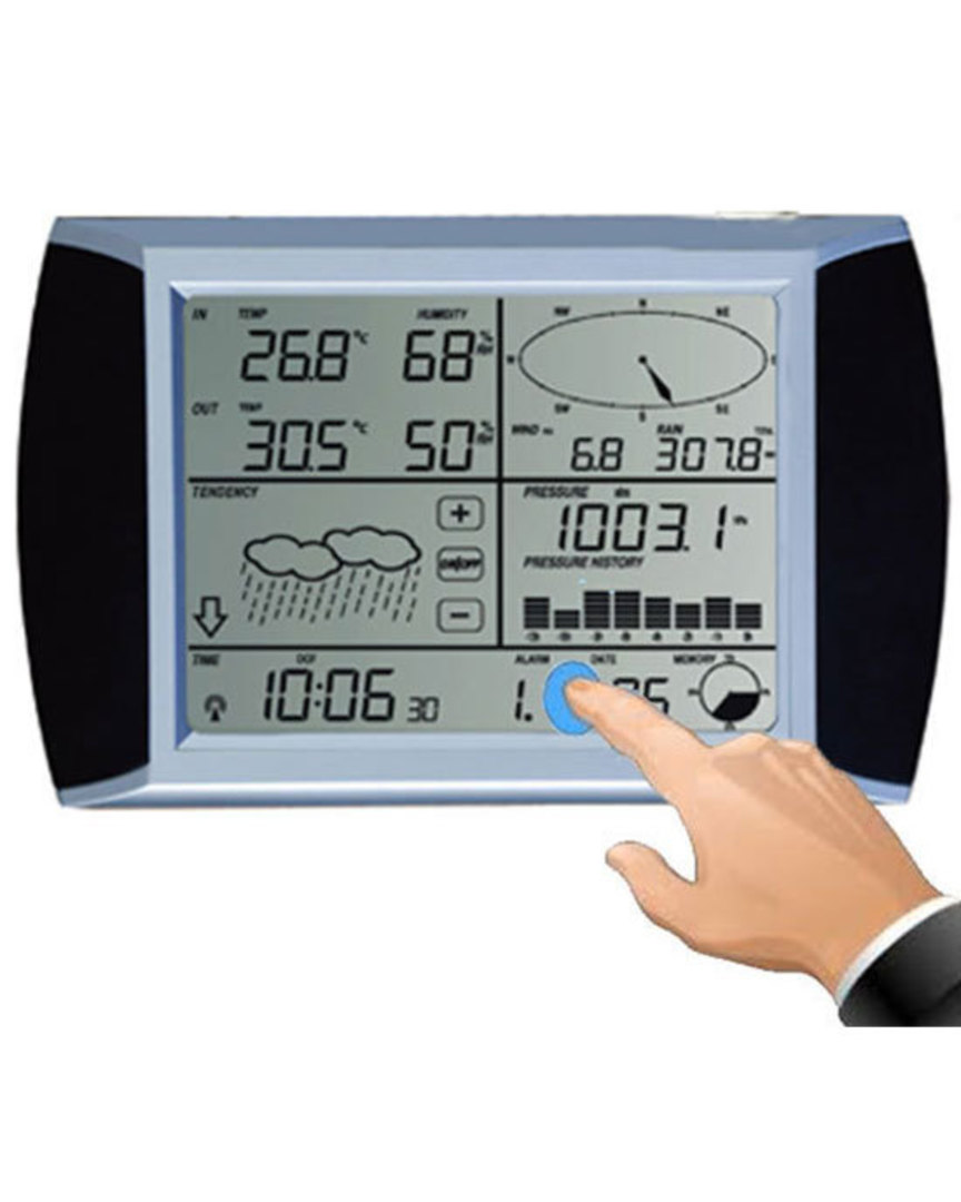 WS1081 TESA Weather Pro Display Console Station image 0