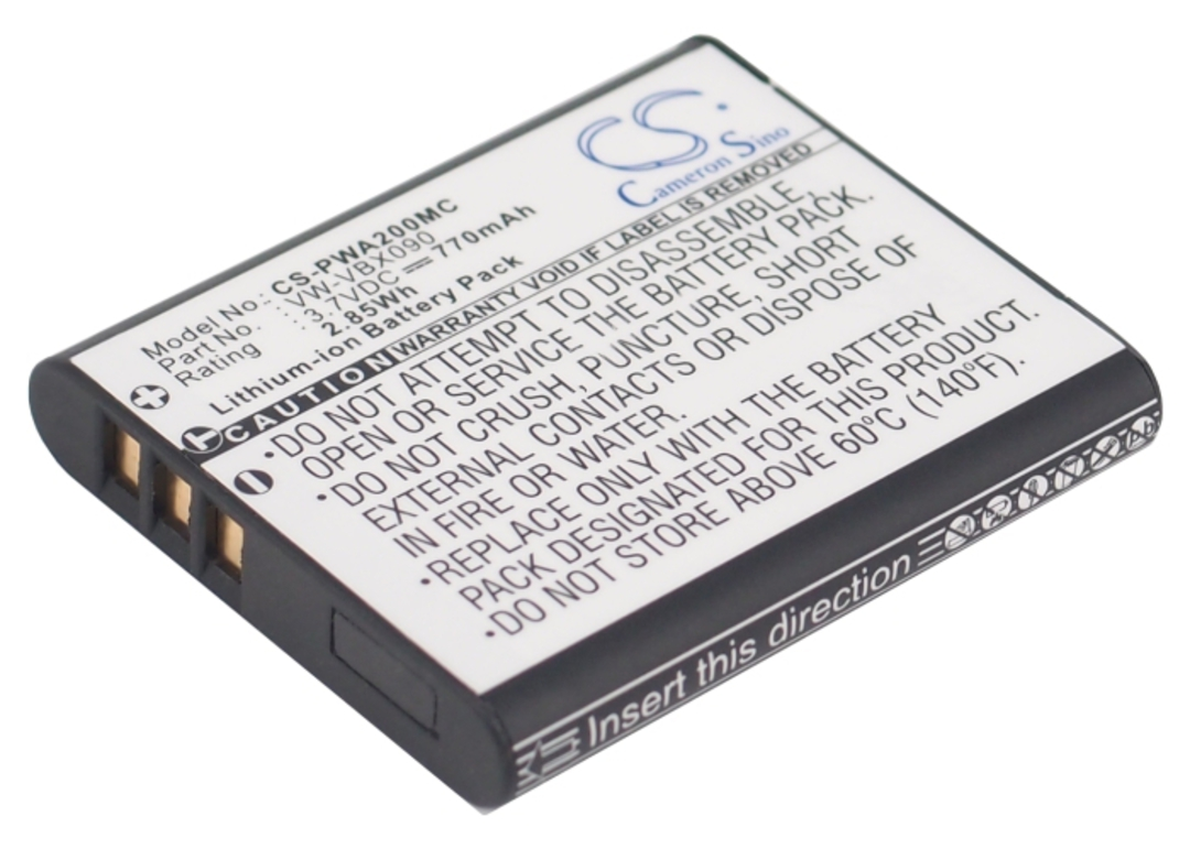 PANASONIC VW-VBX090 VBX090E-W Compatible Battery image 0