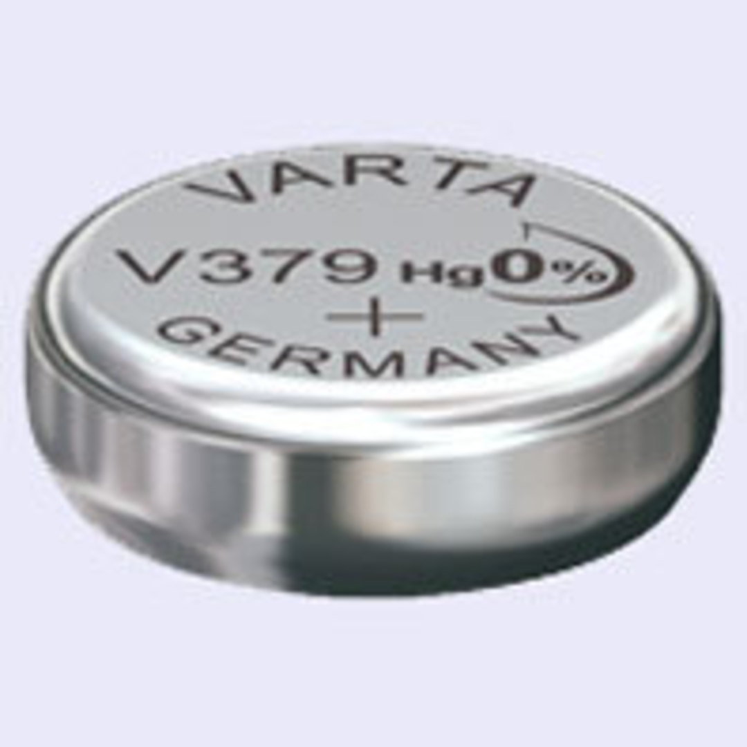 VARTA 379 SR63 SR521 Watch Battery image 0