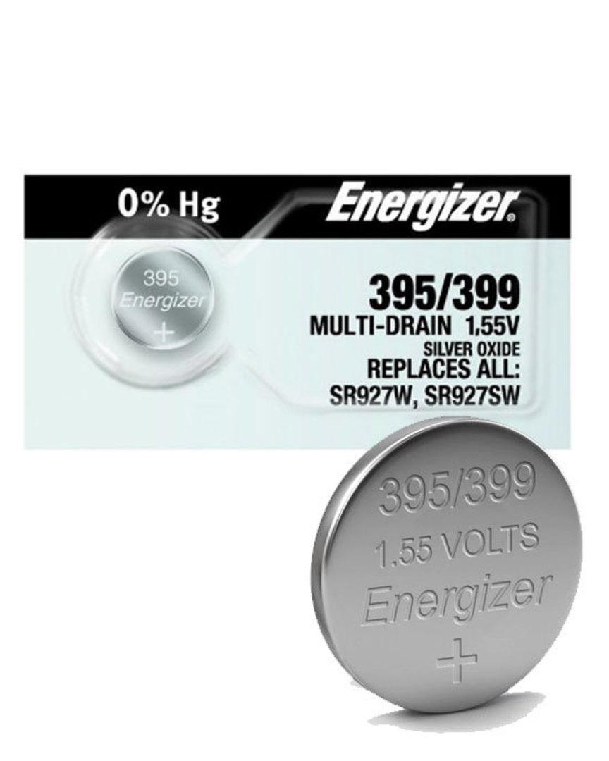 ENERGIZER 395 399 SR57 SR927SW Watch Battery image 0