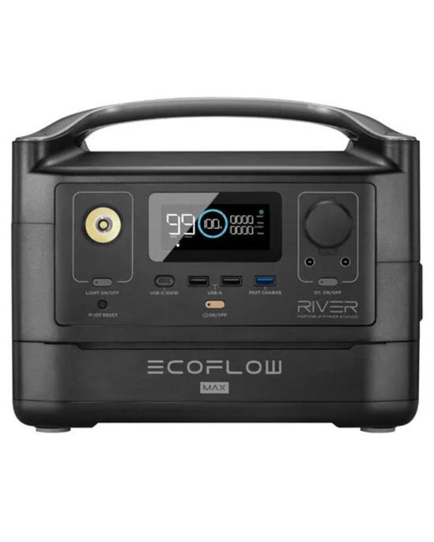 EcoFlow RIVER MAX Portable Power Station 160000mAh image 0