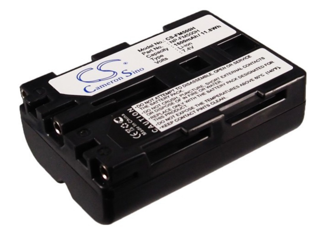 SONY NP-FM500H NPFM500H Compatible Battery image 0
