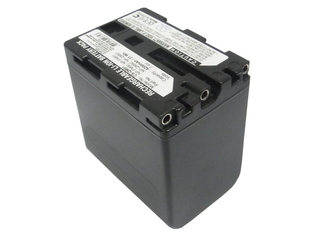 SONY NP-FM90, NP-FM91, NP-QM90 Compatible Battery image 0