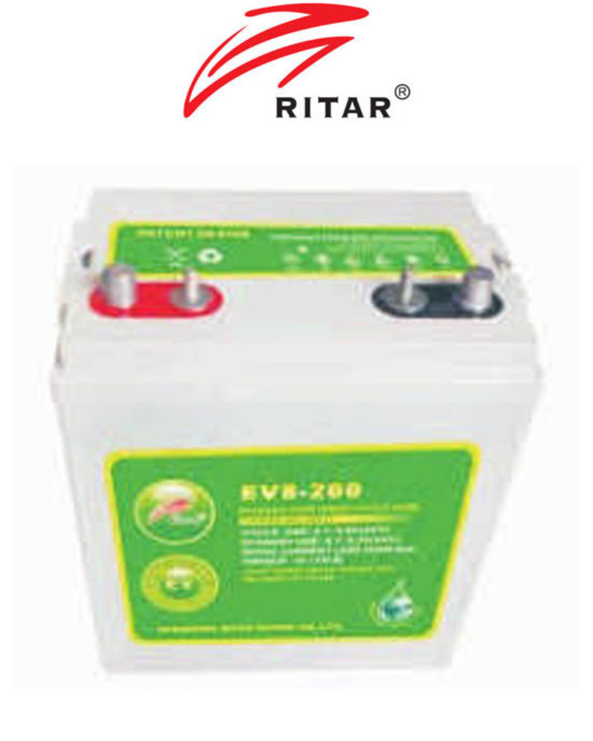 RITAR RA8-200EV 8V 200AH Deep Cycle SLA Battery image 0