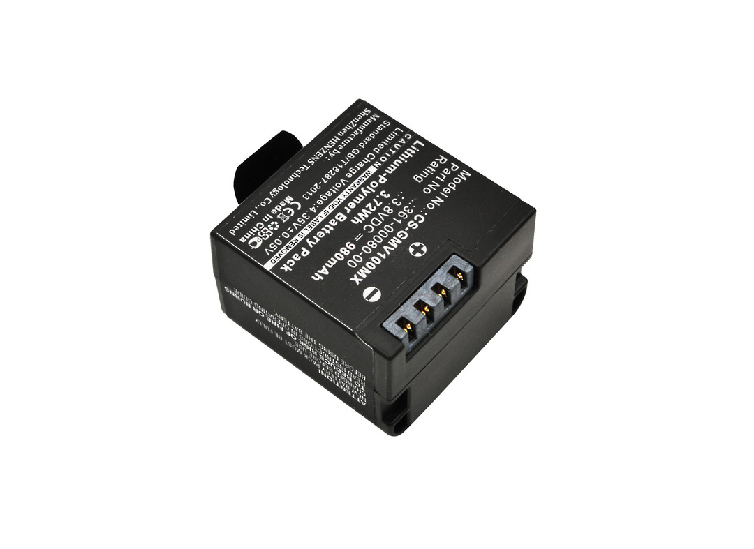 GARMIN 010-12256-01, 361-00080-00, Virb Compatible Battery image 0