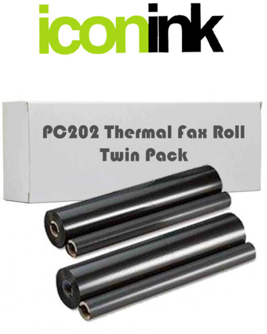 Compatible Brother PC-202RF Twin Pack Thermal Roll image 0