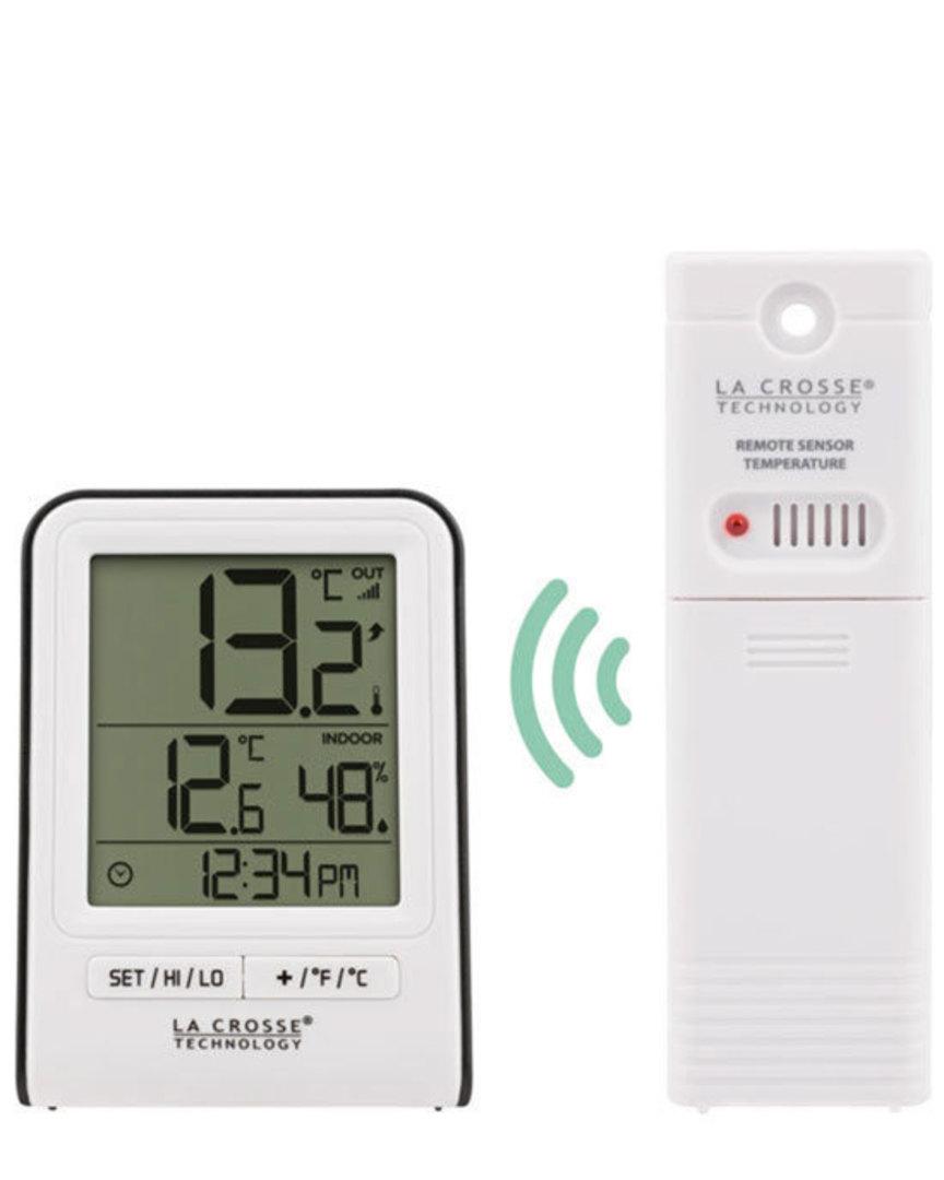 308-1409WT La Crosse Indoor Outdoor Thermometer image 0