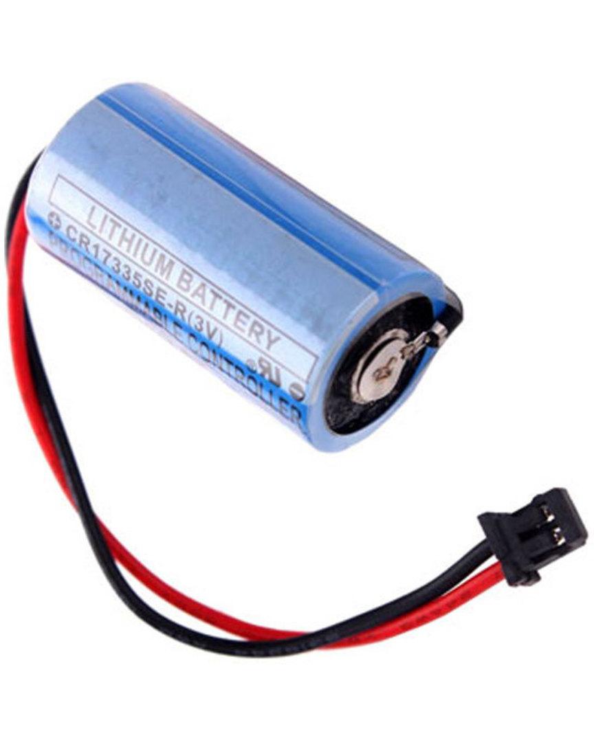 MITSUBISHI Q6BAT Battery CR17335SE 3V PLC image 0