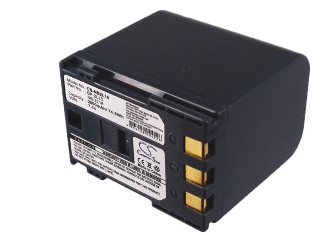 CANON BP-2L18, BP-2L24, NB-2L18 Compatible Battery image 0