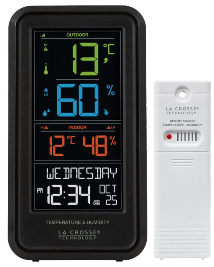 S82967 Personal Weather Station with Temp and Humidity image 0
