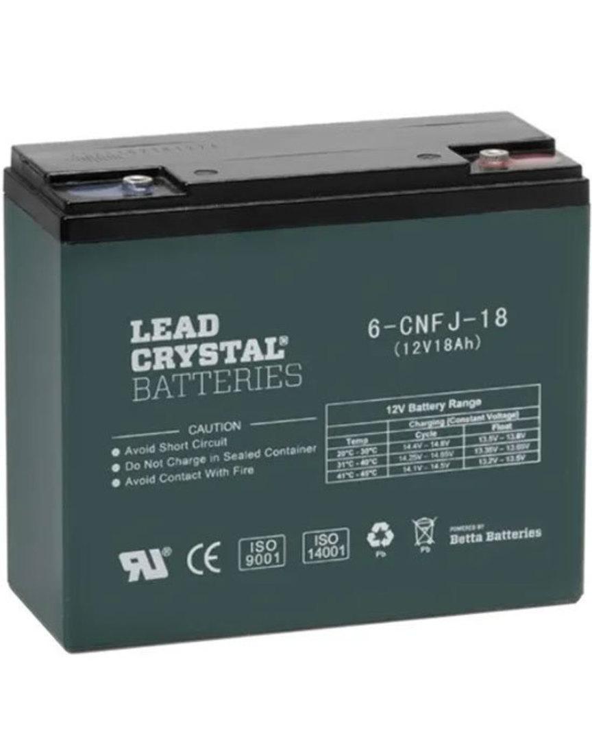 Lead Crystal 6-CNFJ-18 SLA 12V 18AH Battery image 0
