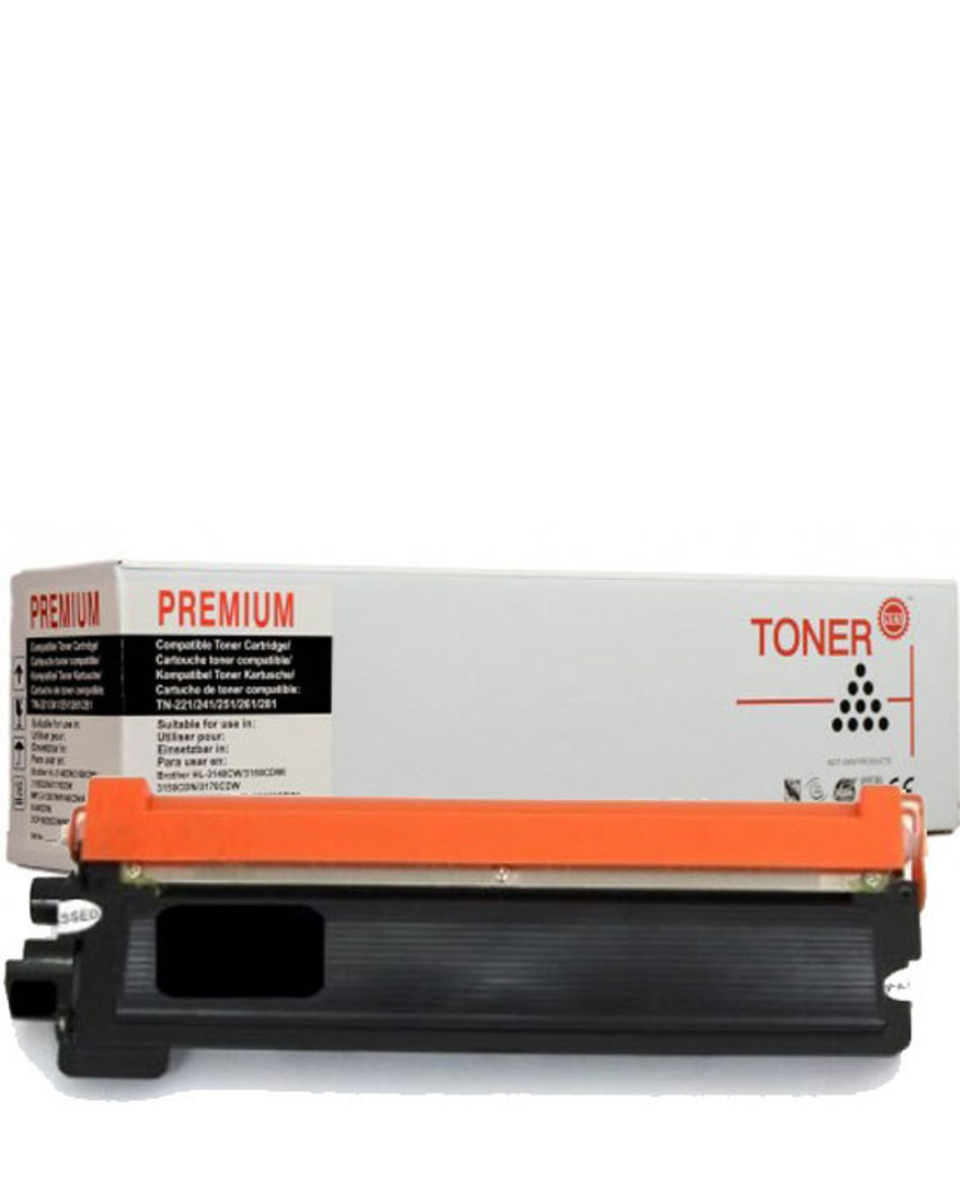 Compatible Brother TN251 Black Toner Cartridge image 0