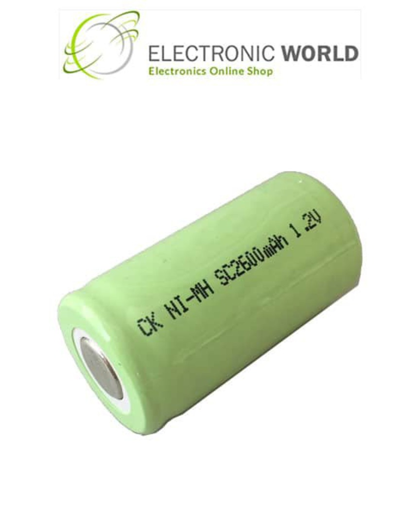 SC SUB-C Size Ni-MH Rechargeable Battery image 0
